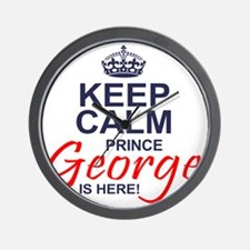 Prince George is Here Wall Clock
