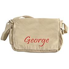 Prince George is Here Messenger Bag