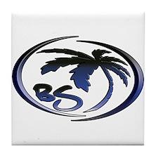 Tile Coaster (Dark Blue)