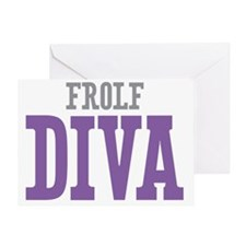 Frolf DIVA Greeting Card