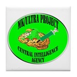 MK/Ultra Project Tile Coaster