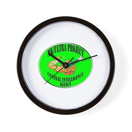 MK/Ultra Project Wall Clock