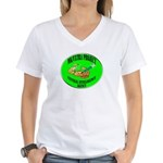 MK/Ultra Project Women's V-Neck T-Shirt
