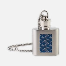 Orca_Blue_Large Flask Necklace