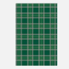 PlaidClassic_Green1_Large Postcards (Package of 8)