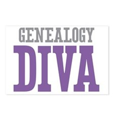 Genealogy DIVA Postcards (Package of 8)