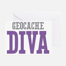 Geocache DIVA Greeting Card