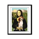 Mona's Beagle #1 Framed Panel Print