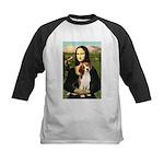 Mona's Beagle #1 Kids Baseball Jersey