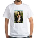 Mona's Beagle #1 White T-Shirt