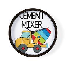 Cement Mixer Wall Clock