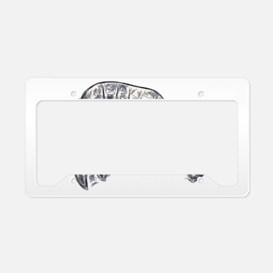 RCM Fish Abstraction 1 License Plate Holder