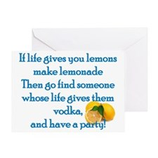 Life Gives You Lemons... Greeting Card