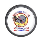 Bush Rat Wall Clock Tells you it's time to Vote