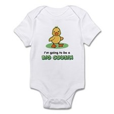 Big Cousin to be - Duck Infant Bodysuit