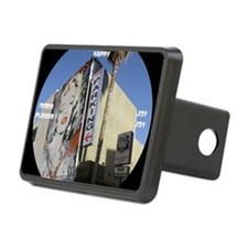 clock 2j2htymp hollywood p Hitch Cover