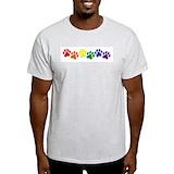 Autism mens Mens Light T-shirts