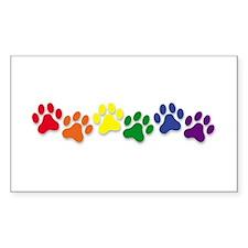 Family Pet Rectangle Decal