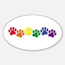 Family Pet Oval Decal