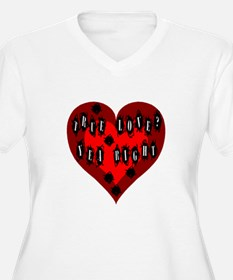 Holes in Heart T-Shirt
