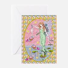 Sea Fairy Maiden Greeting Card