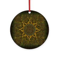 SXNO Round Ornament