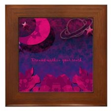 Moonflower Framed Tile