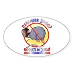 Bush Rat Oval Sticker