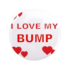 """I LOVE MY BUMP WITH HEARTS 3.5"""" Button"""