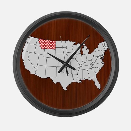 Montana Large Wall Clock