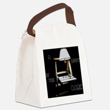 A Light in the Dark Canvas Lunch Bag