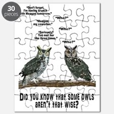 Not So Wise Old Owls Puzzle