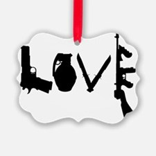 Love Weapons Ornament