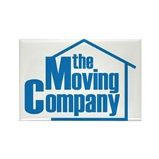 the Moving Company Rectangle Magnet