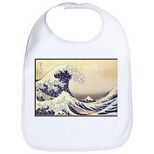 Kanagawa Japanese Art Bib