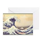 Kanagawa Japanese Art Greeting Cards (Pk of 10