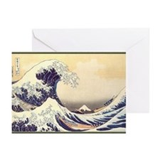 Kanagawa Japanese Art Greeting Cards (Pk of 10