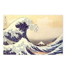 Kanagawa Japanese Art Postcards (Package of 8)