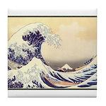 Kanagawa Japanese Art Tile Coaster