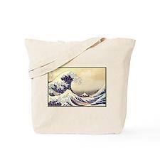 Kanagawa Japanese Art Tote Bag