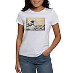 Kanagawa Japanese Art Women's T-Shirt