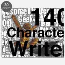 140 Character Writer WHITE Puzzle