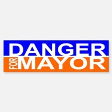Carlos Danger for Mayor Bumper Bumper Sticker