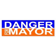 Carlos Danger for Mayor Bumper Sticker