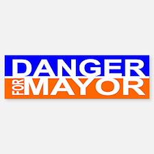 Carlos Danger for Mayor Car Car Sticker