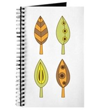 Autumn Fall Artistic Leaves Journal