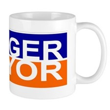 Danger for Mayor Small Mug