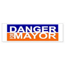 Danger for Mayor Bumper Sticker