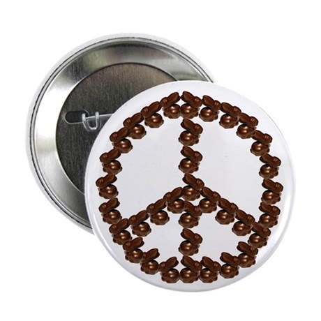 """Peace by Chocolate 2.25"""" Button (100 pack)"""