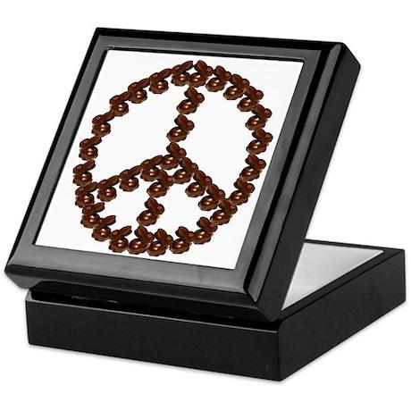 Peace by Chocolate Keepsake Box